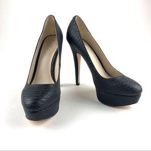 ALDO Women's Faux Snakeskin Platform Pump Size 7